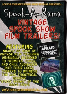 Spook Show Trailers DVD
